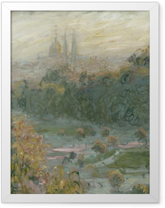 Poster en cadre Claude Monet - Tuileries (étude) - Reproductions