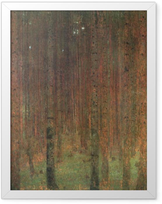 Poster en cadre Gustav Klimt - Forêt de pins - Reproductions