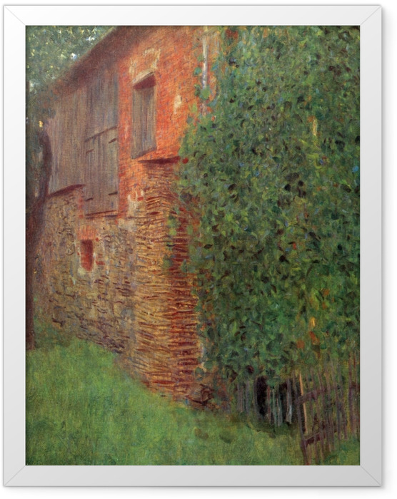 Plakat w ramie Gustav Klimt - Dom w Kammer - Reprodukcje