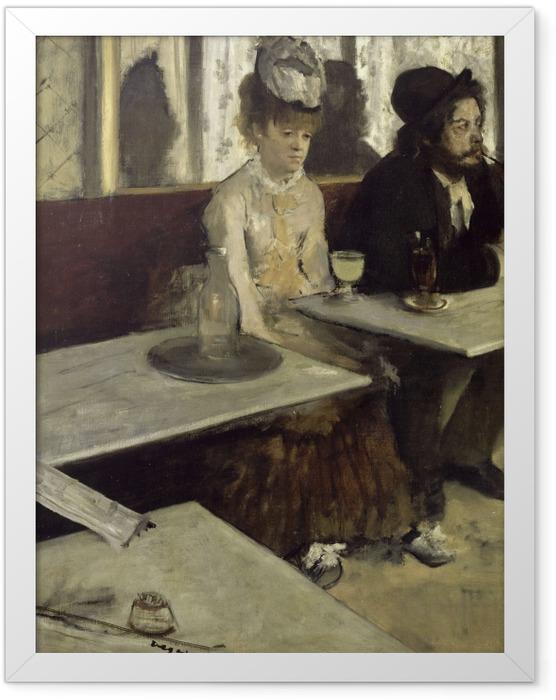 Plakat w ramie Edgar Degas - Absynt - Reprodukcje