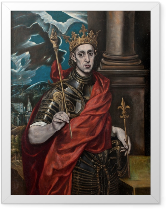 Poster en cadre Le Greco - Saint Louis - Reproductions