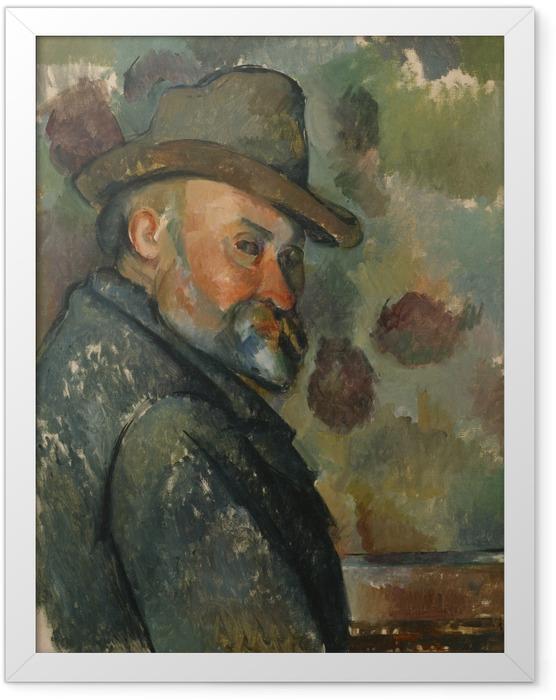 Poster en cadre Paul Cézanne - Autoportrait - Reproductions