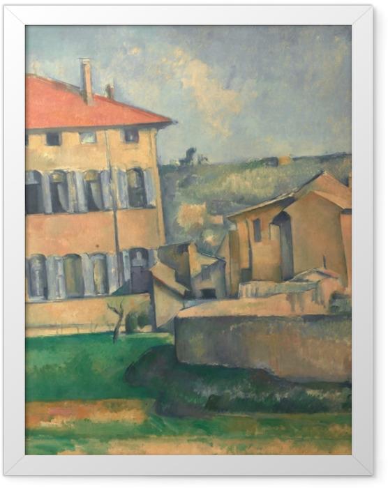Poster en cadre Paul Cézanne - Jas de Bouffan - Reproductions