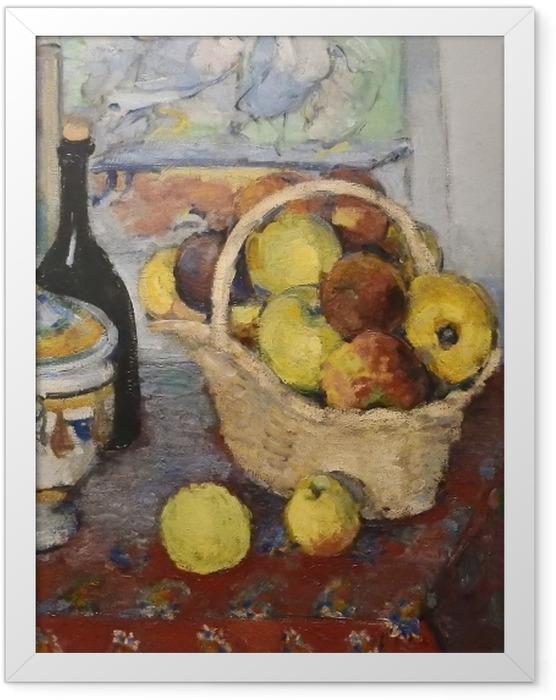 Plakat w ramie Paul Cézanne - Martwa natura z wazą - Reprodukcje