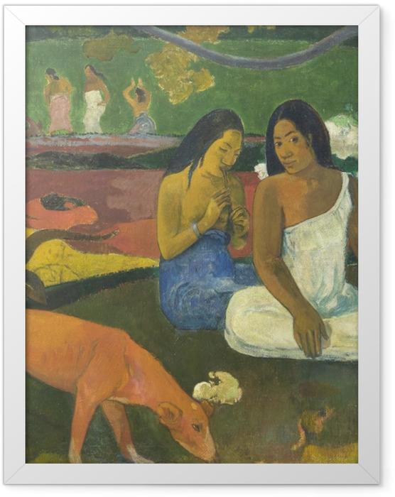 Plakat w ramie Paul Gauguin - Arearea - Reprodukcje