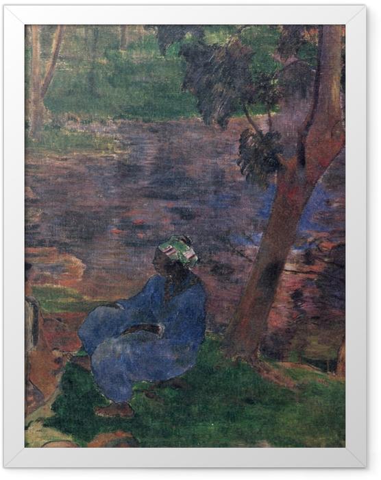 Poster en cadre Paul Gauguin - Martinique (Am Teichufer) - Reproductions