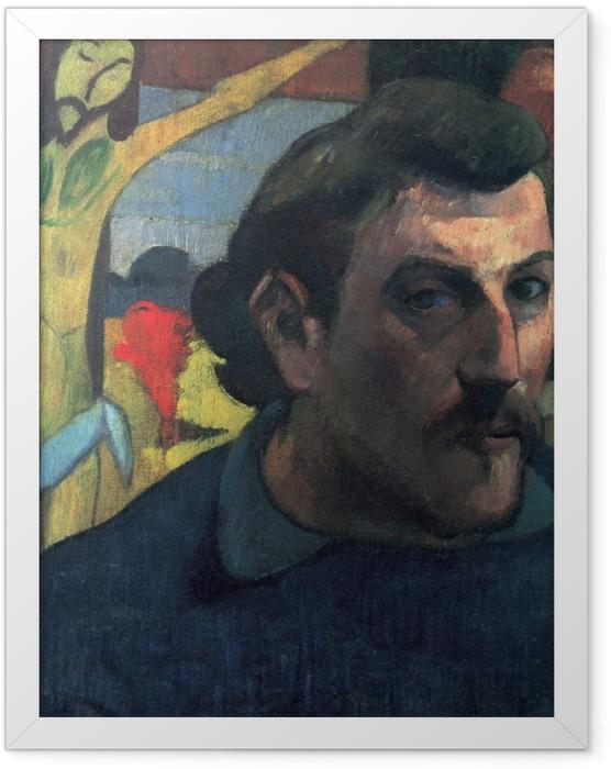 Poster en cadre Paul Gauguin - Le Christ jaune - Reproductions