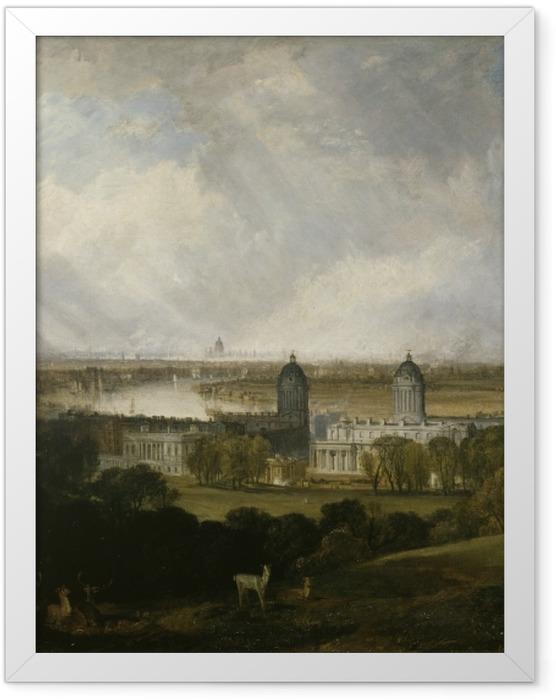 Plakat w ramie William Turner - Londyn - Reprodukcje