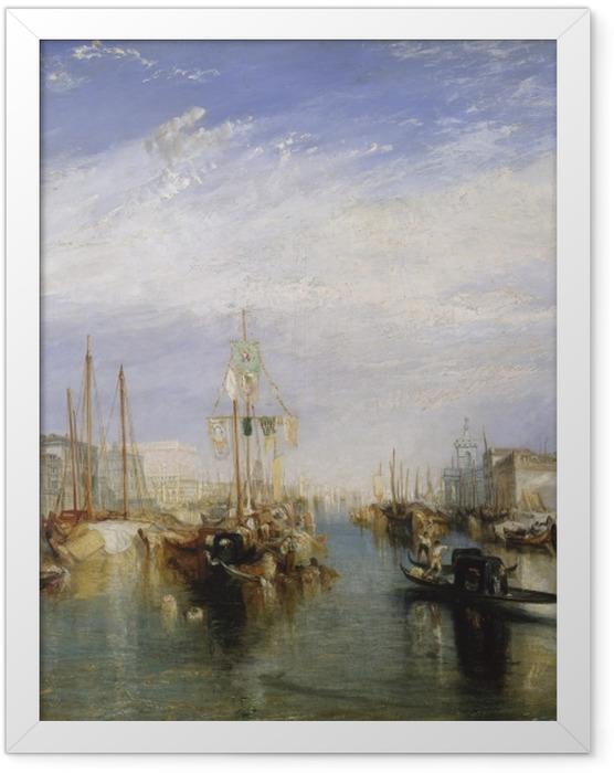 Gerahmtes Poster William Turner - Canal Grande - Reproduktion
