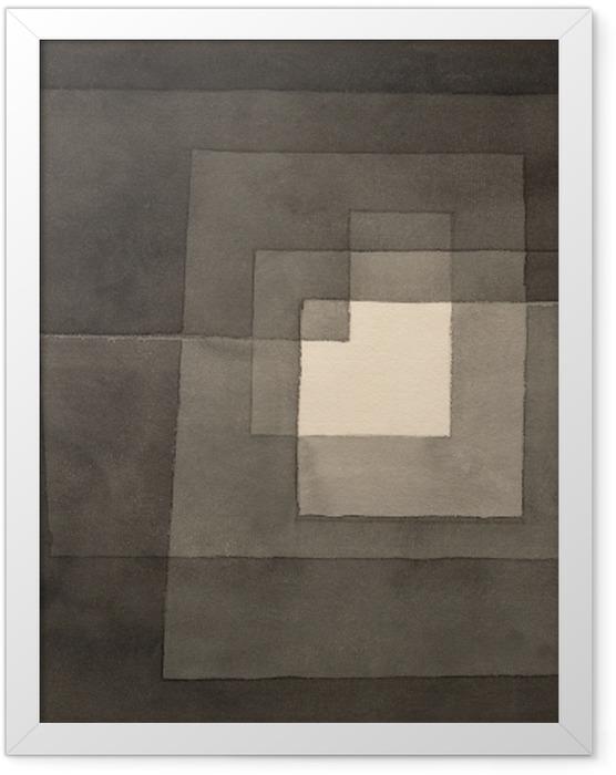 Plakat w ramie Paul Klee - Dwie drogi - Reprodukcje