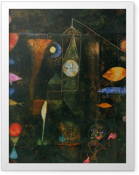 Plakat w ramie Paul Klee - Magia ryb - Reprodukcje