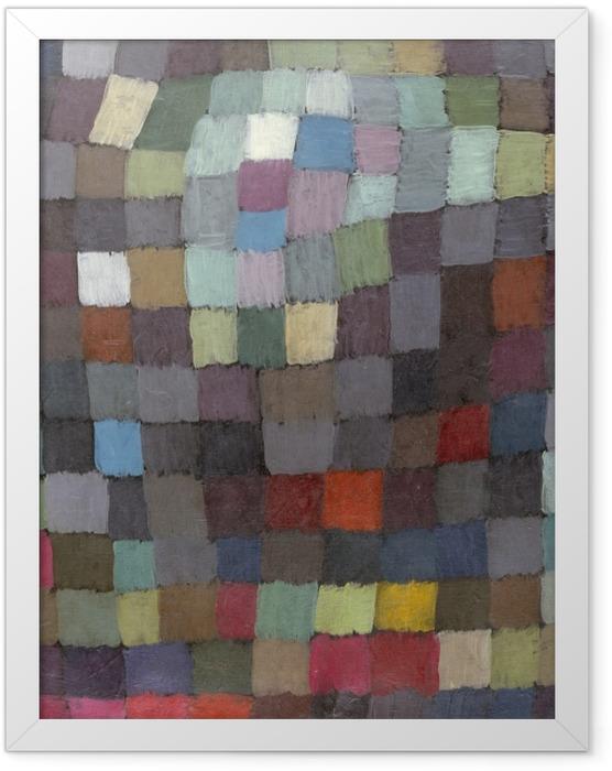 Gerahmtes Poster Paul Klee - Maibild - Reproduktion