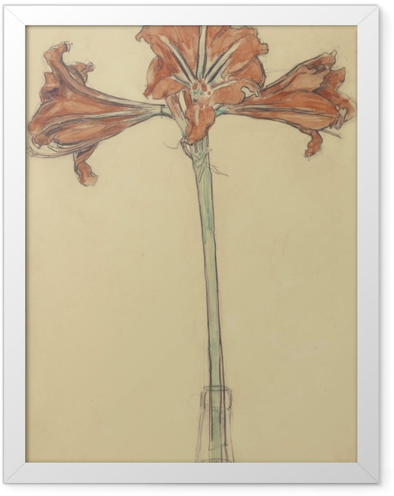 Plakat w ramie Piet Mondrian - Amarylis - Reprodukcje