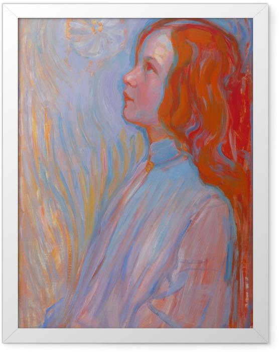Plakat w ramie Piet Mondrian - Poświęcenie - Reprodukcje