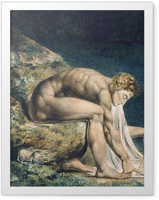 Plakat w ramie William Blake - Newton - Reprodukcje