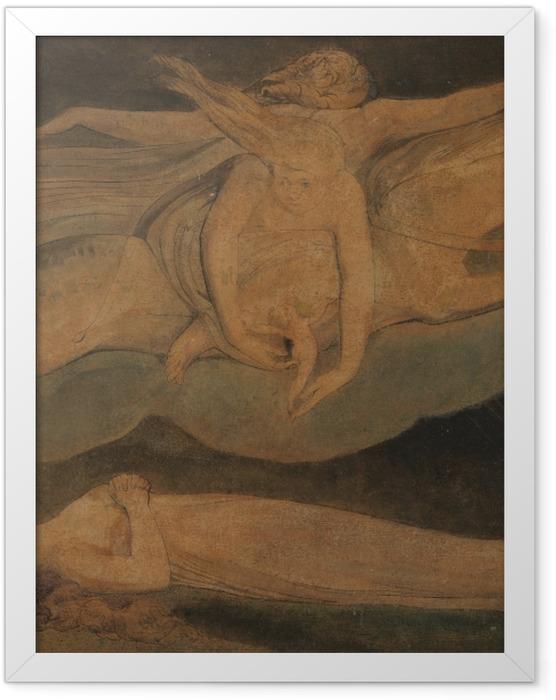 Poster en cadre William Blake - La Pitié - Reproductions
