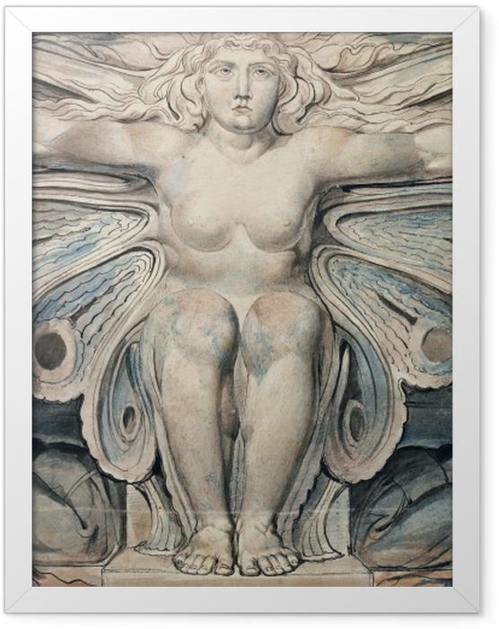 Plakat w ramie William Blake - Personifikacja grobu - Reprodukcje