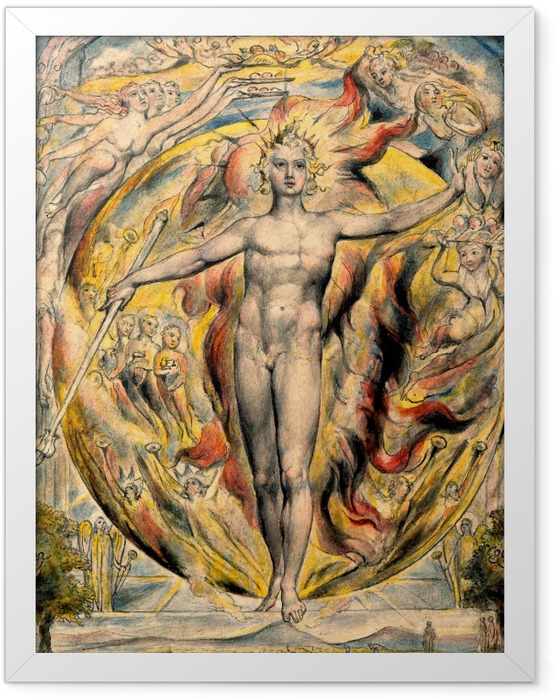 Poster en cadre William Blake - Moïse - Reproductions