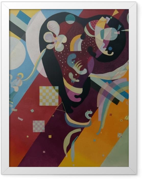 Gerahmtes Poster Wassily Kandinsky - Komposition IX - Reproduktion