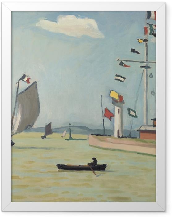 Poster en cadre Albert Marquet - Honfleur - Reproductions