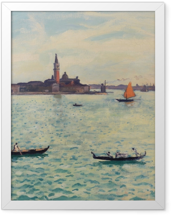 Poster en cadre Albert Marquet - Venise - Reproductions