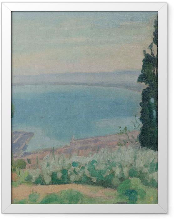 Gerahmtes Poster Albert Marquet - Algerischer Golf, Blick von El-Biar - Reproductions