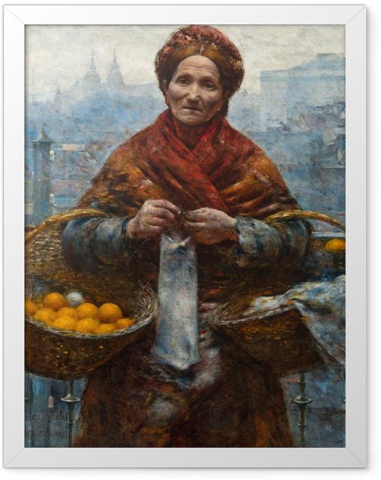 Plakat w ramie Aleksander Gierymski - Pomarańczarka - Reproductions