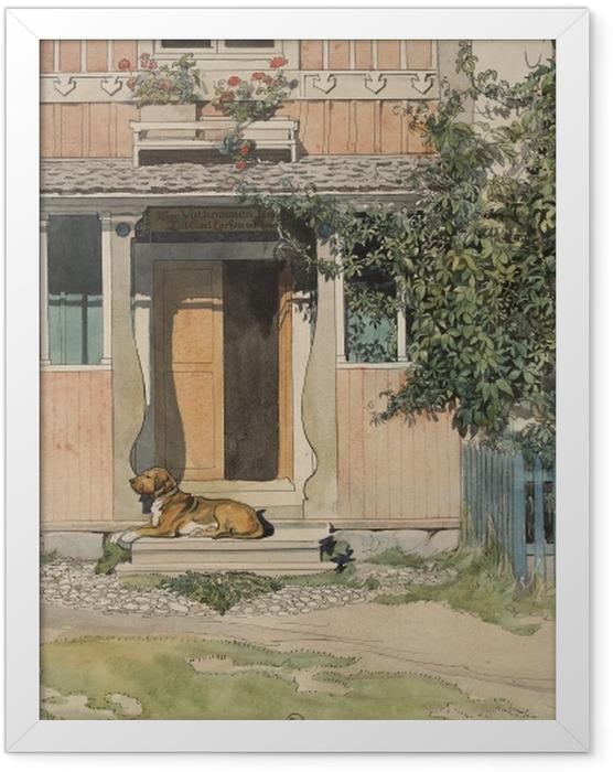 Poster en cadre Carl Larsson - La Véranda - Reproductions