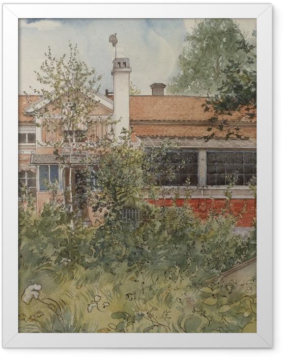 Plakat w ramie Carl Larsson - Dom w słońcu - Reproductions