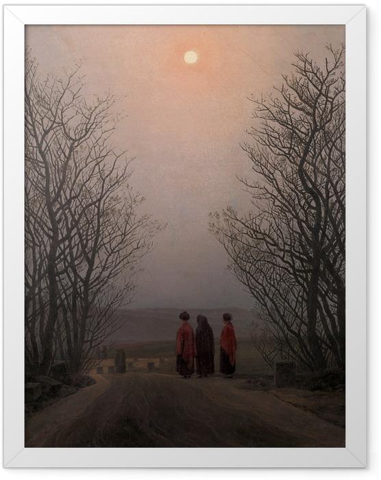 Plakat w ramie Caspar David Friedrich - Poranek Wielkanocny - Reproductions