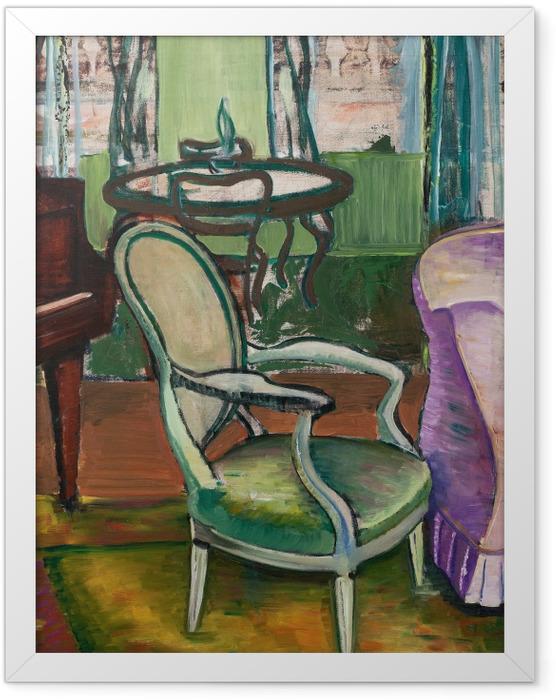 Poster en cadre Efa Prudence Heward - Etude du salon de l'artiste - Reproductions