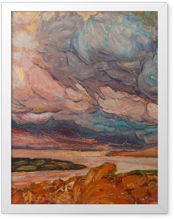 Poster en cadre Helmer Osslund - Paysage - Reproductions