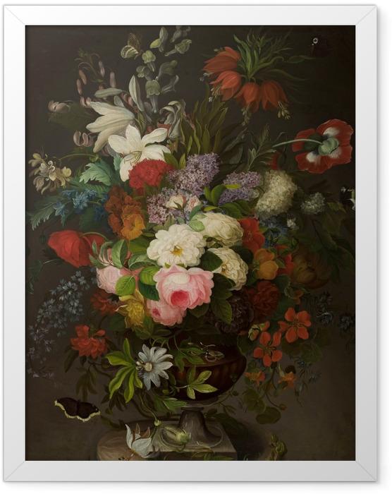 Plakat w ramie Henryka Beyer - Kwiaty - Reproductions