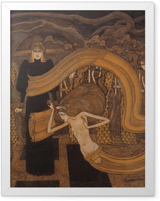 Poster en cadre Jan Toorop - Fatalisme - Reproductions