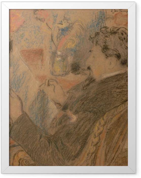 Gerahmtes Poster Jan Toorop - Skizze - Reproductions
