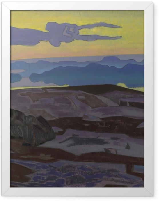 Plakat w ramie Nikołaj Roerich - Werdykt - Nicholas Roerich