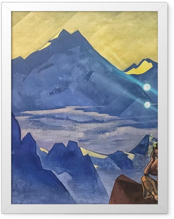 Poster en cadre Nicolas Roerich - Bouddha - Nicholas Roerich