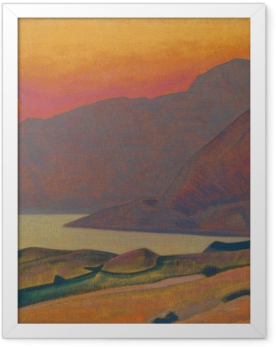 Gerahmtes Poster Nicholas Roerich - Monhegan. Maine - Nicholas Roerich