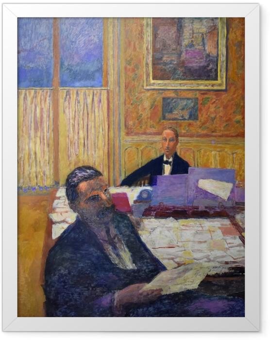 Poster en cadre Pierre Bonnard - Les frères Bernheim-Jeune - Reproductions