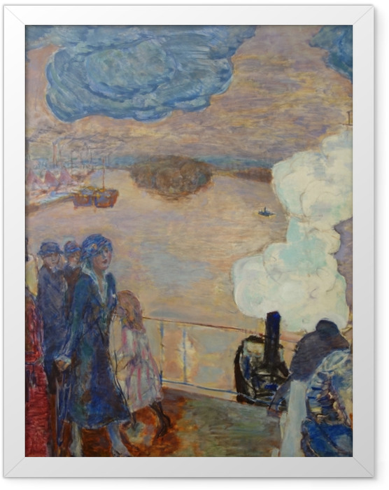 Gerahmtes Poster Pierre Bonnard - Arbeiter - Reproductions