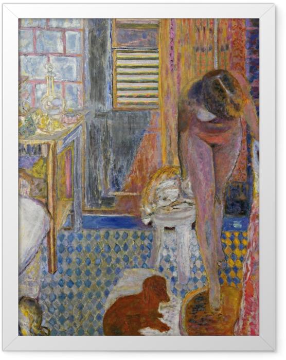 Poster en cadre Pierre Bonnard - La salle de bain - Reproductions