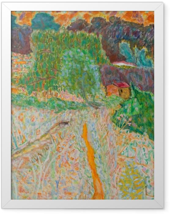 Poster en cadre Pierre Bonnard - Vue du studio de l'artiste - Reproductions