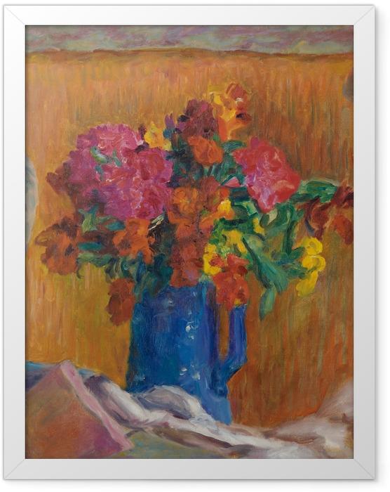 Poster en cadre Pierre Bonnard - Le pot bleu - Reproductions