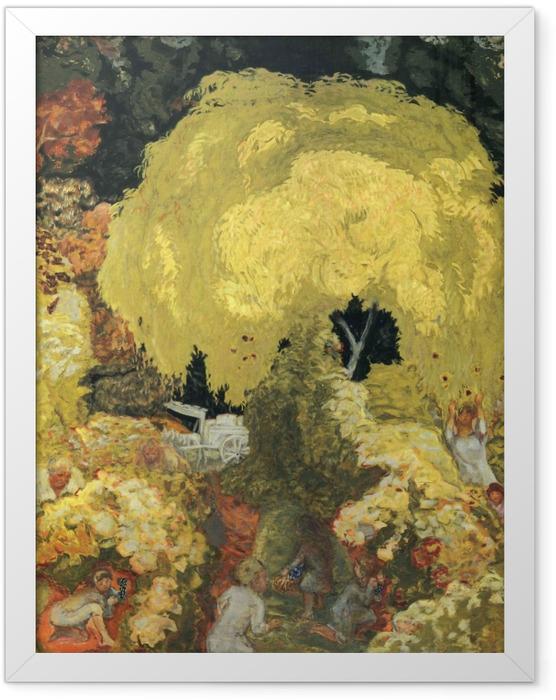 Plakat w ramie Pierre Bonnard - Zbieracze owoców - Reproductions
