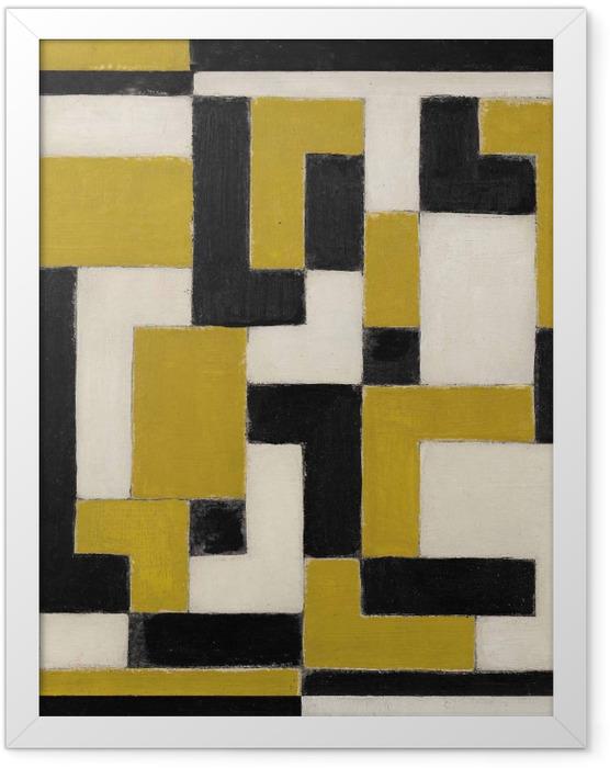 Plakat w ramie Theo van Doesburg - Kompozycja - Reproductions