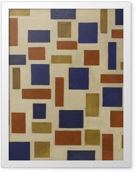 Plakat w ramie Theo van Doesburg - Kompozycja XI - Reproductions