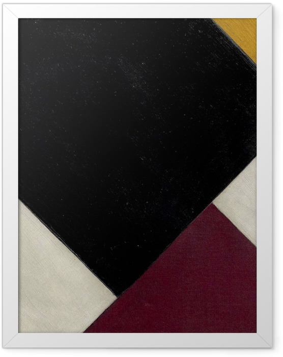 Poster en cadre Theo van Doesburg - Contre-composition XI - Reproductions