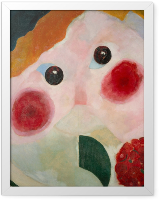 Plakat w ramie Theo van Doesburg - Dziewczyna z jaskrem - Reproductions