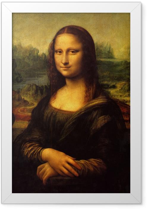 Poster en cadre Léonard de Vinci - Mona Lisa (La Joconde) - Reproductions