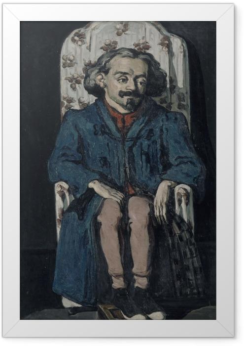 Plakat w ramie Paul Cézanne - Portret Achille'a Emperaire'a - Reprodukcje